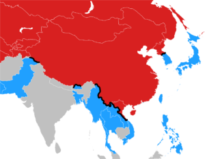 Map Of Modern Asia.A Brief History Of Modern East Asia Section 117